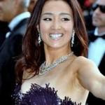 Gong Li, la langue chinoise a du charme