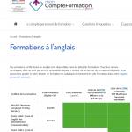 Code CPF: les premiers codes disponibles pour les langues