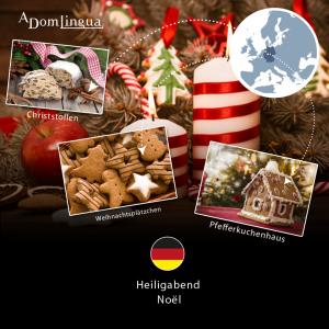 Traditions de Noël Allemagne