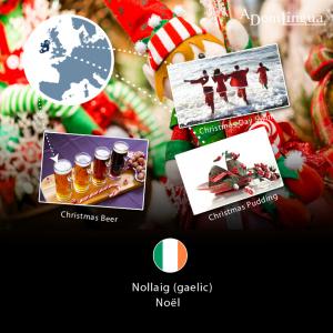 Traditions de Noël Irlande